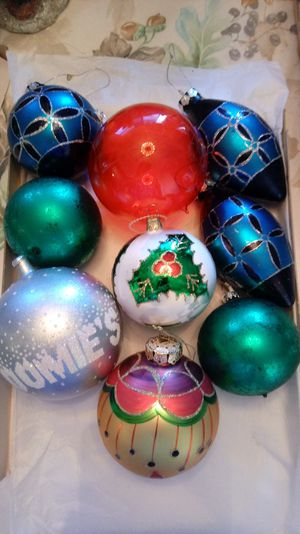 large vintage christmas ornaments 18 gorgeous xmas decorations for xmas tree for sale in