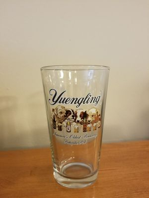Collectible Yuengling Puppies Glass for Sale in Fairfax, VA
