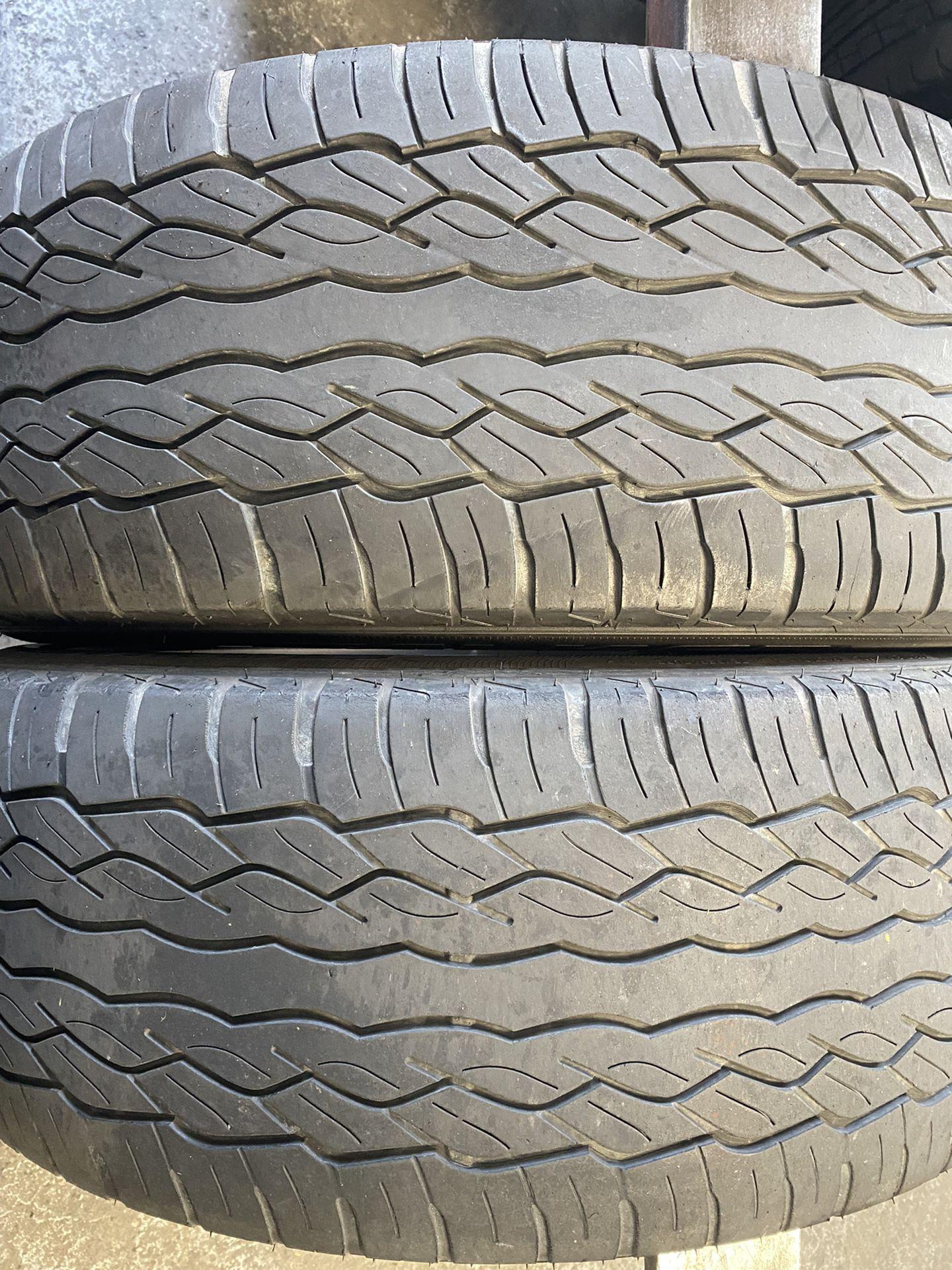 285/45/22 Falken (2 Tires) $80.00/ Both