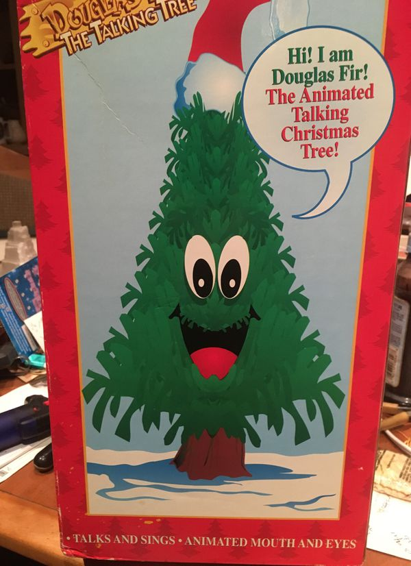 Douglas Fir the talking singing tree for Sale in San Diego, CA - OfferUp