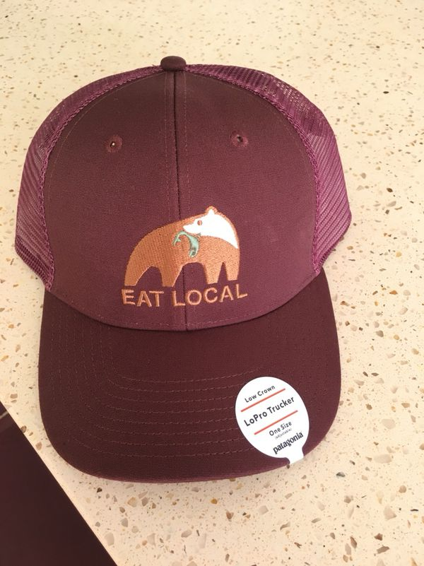 449d36110f Patagonia eat local hat for Sale in Seattle