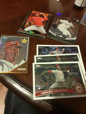 23 card lot of AROLDIS CHAPMAN ROOKIE CARDS for Sale in Chicago, IL