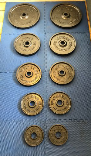 Photo WEIDER Olympic weight plates 🇺🇸