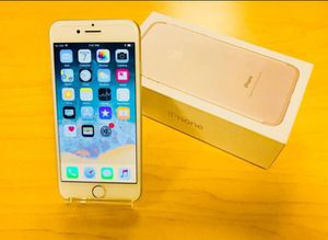 IPhone7 Plus Factory Unlocked + box and accessories + 30 day warranty for Sale in Sterling, VA