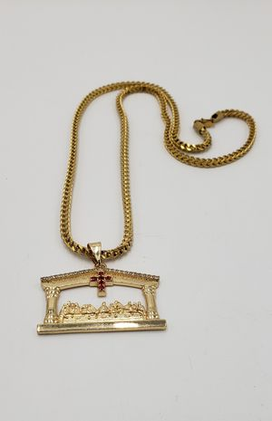 👑👑👑14k Gold Plated chain 🔥🔥🔥I Deliver🚘🚘🚘Won't Change Color💱💱💱💯💯 for Sale in Miami, FL