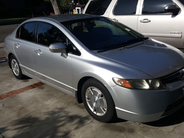 Honda Civic Hybrid 06 Obo