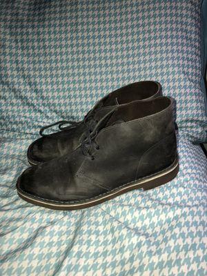 Clarks Desert Boots Grey - 12 for Sale in Alexandria, VA