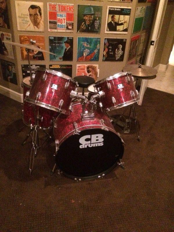 CB 7 Piece Drum Set