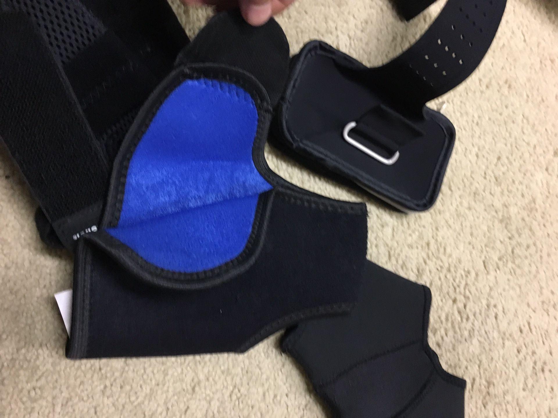 Ankle and wrist brace