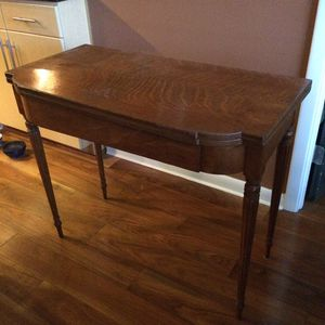 REDUCED!! Antique Game Table with swivel top!! for Sale in Austin, TX