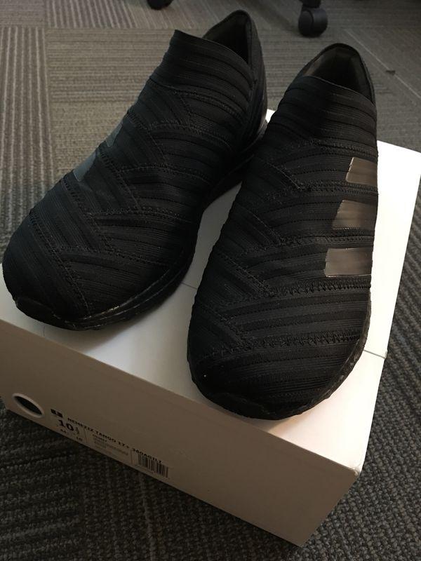 online retailer 49a2a 24648 Adidas Nemeziz Tango 17+ Ultraboost Black US10.5 for Sale in Santa ...