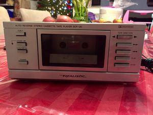 Realistic Vintage Scp 25 Stereo Cassette Tape Player for Sale in Annandale, VA