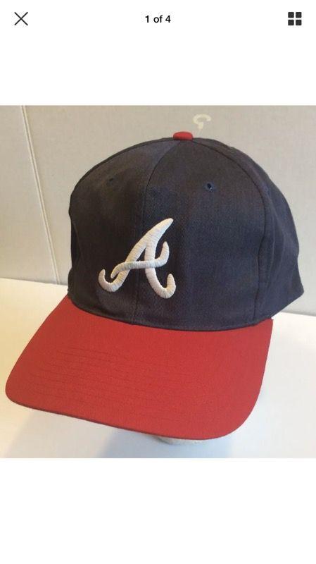 e0238cadbea Vintage Atlanta Braves Hat
