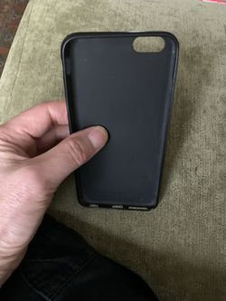 Case for iPhone 6s PLUS phone - black - perfect condition Thumbnail