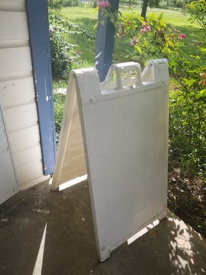 Outdoor Sign stand for Sale in Austin, TX