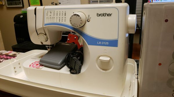 Brother LX 40 Sewing Machine Household In Mesa AZ OfferUp Magnificent Brother Sewing Machine Lx3125