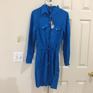 New Women Ralph Lauren Shirt Dress Size 10P for Sale in Fairfax, VA