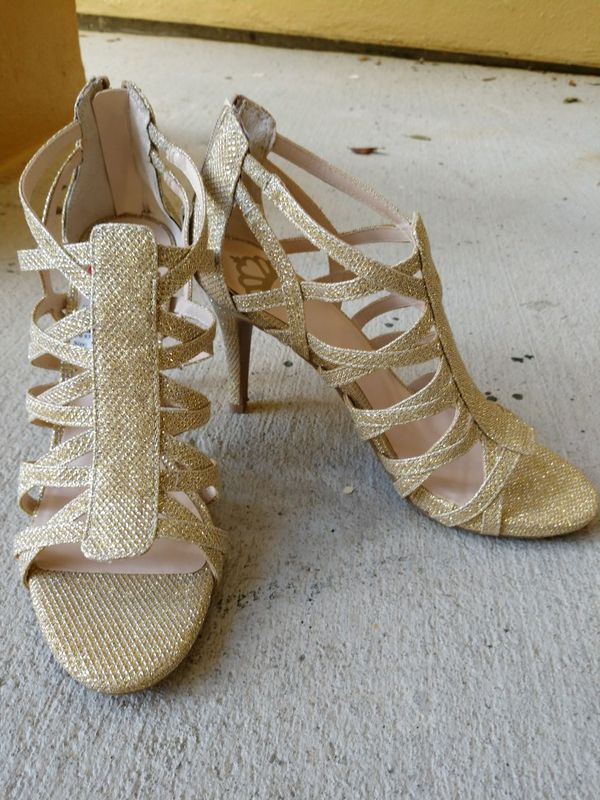 b950f0f8599 Gold Dressy Heels for Sale in Tampa