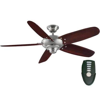 Home decorators collection altura 56 in indoor oil rubbed bronze ceiling fan with remote control household in carrollton tx offerup