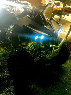 🚨Brand New ATV Quad 4 Wheeler for ADULT 125cc w/ LED lights & Title on Hand  Thumbnail