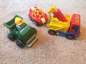 John Deere push tractor, Oball car, Wader tow truck for Sale in Alexandria, VA