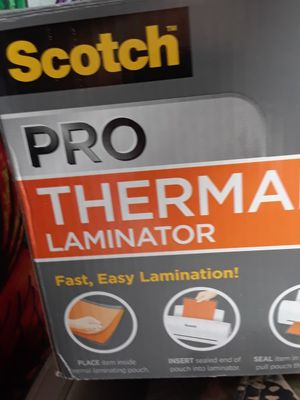 Scotch Pro Thermal Laminator for Sale in Colton, CA - OfferUp