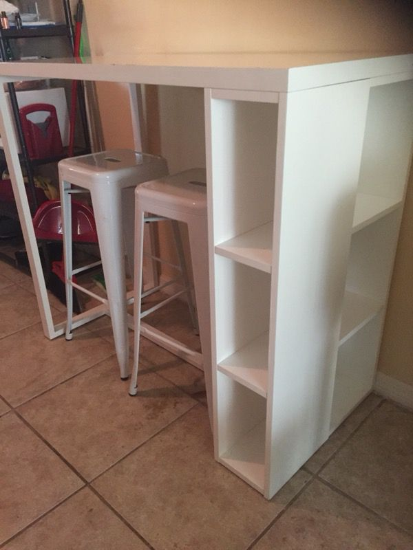 CBhigh Top Tablehigh Top Desk For Sale In Orlando FL OfferUp - Cb2 high top table