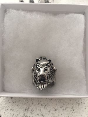 Biker ring Lion Chief ring for Sale in Ocoee, FL