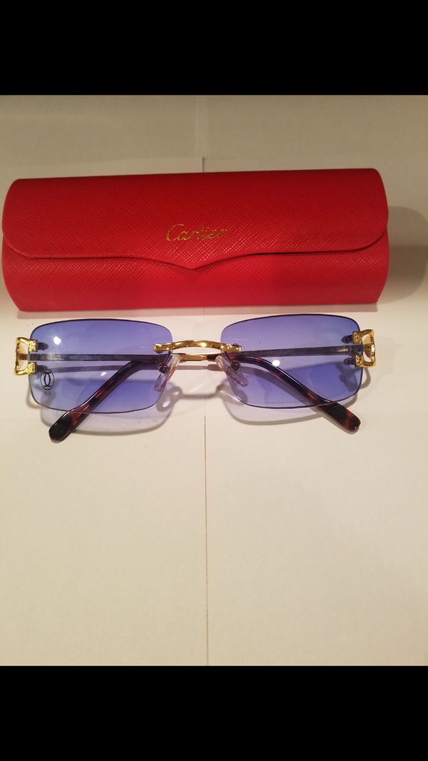Blue For ConyersGa Sale In Offerup Gold Lens Cartier Sunglasses 34jL5AR