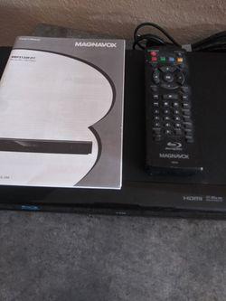 Magnavox Blu Ray DVD Player Thumbnail