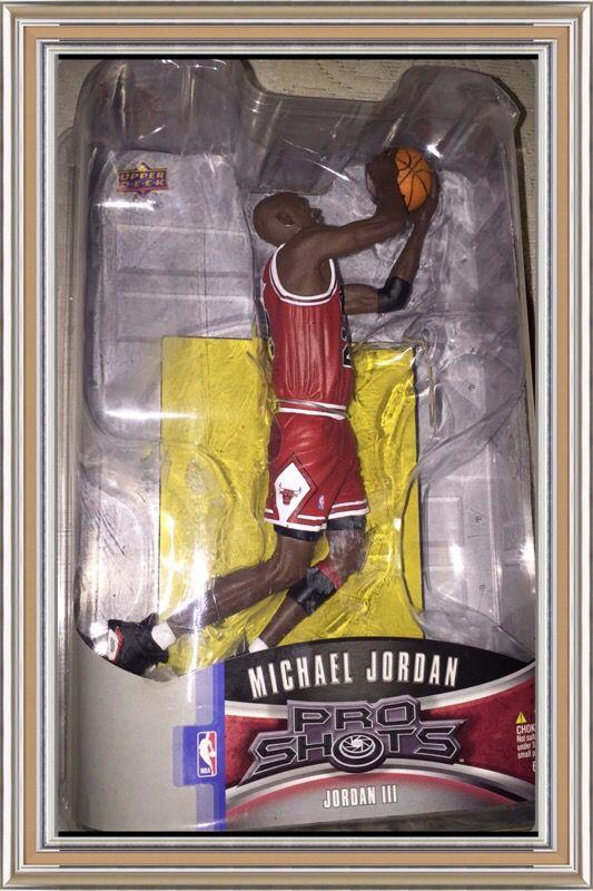 Collectible Michael Jordan never opened