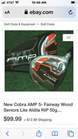 Cobra driver 10.5 right hand 5 wood 3 wood Thumbnail