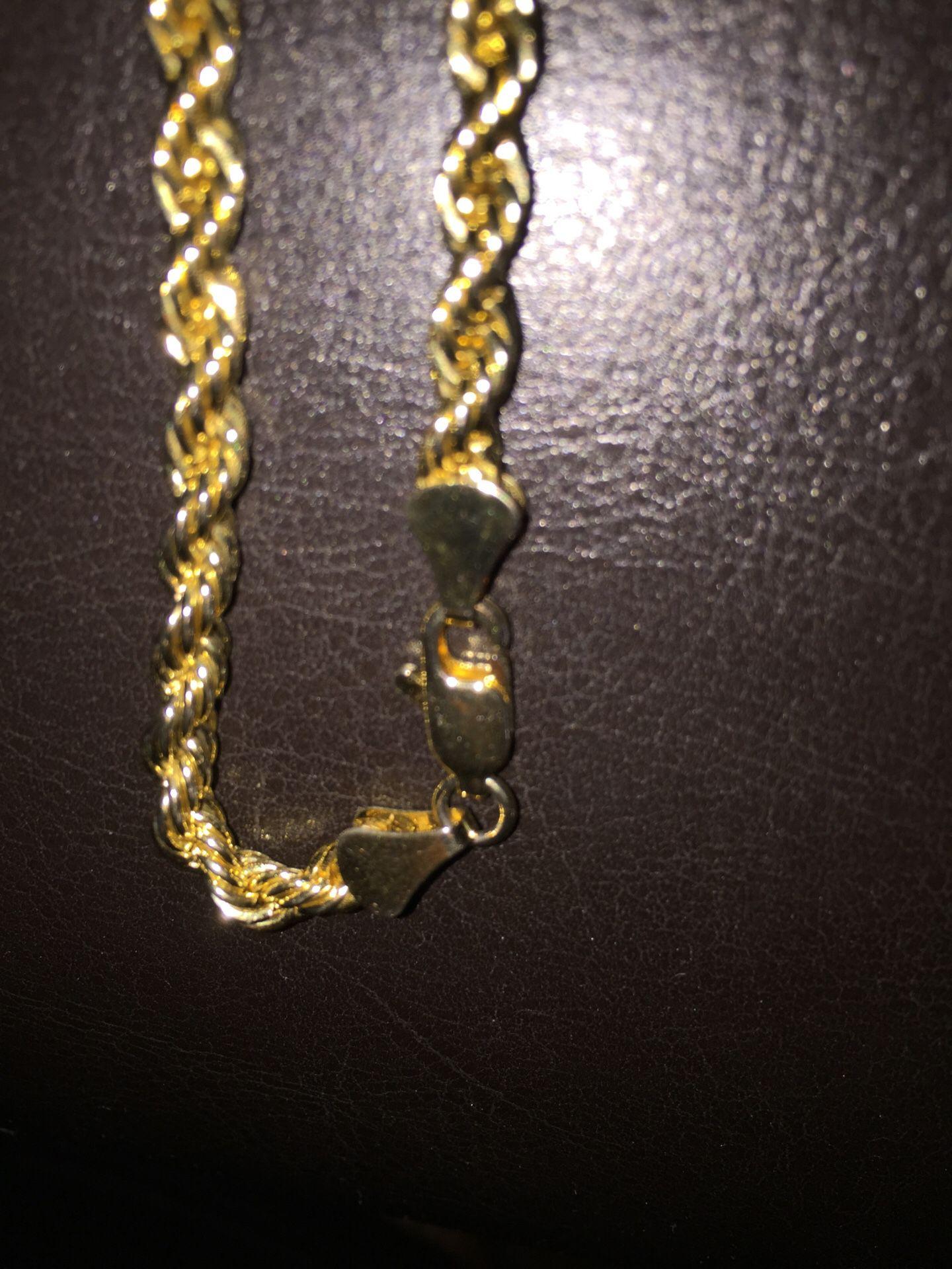 14 k gold chain