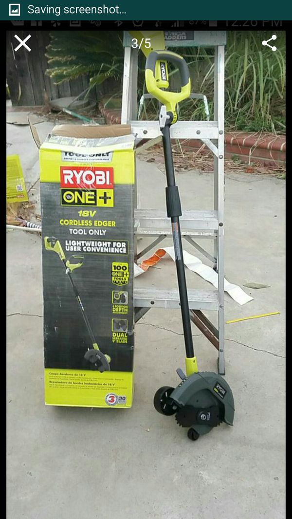 Ryobi 18v cordless edger tool only for Sale in Stanton, CA - OfferUp