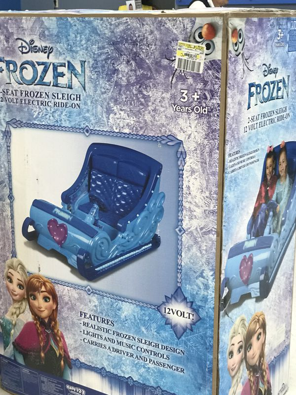 12 V Frozen Ride On New In Box Games Toys In Houston Tx Offerup