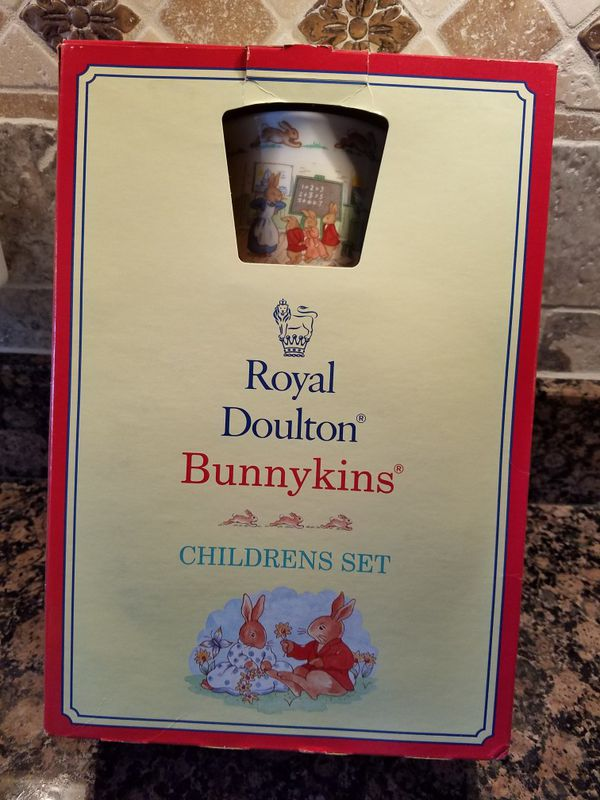 Royal Doulton Bunnykins 3 piece China set for Sale in Winston-Salem ...