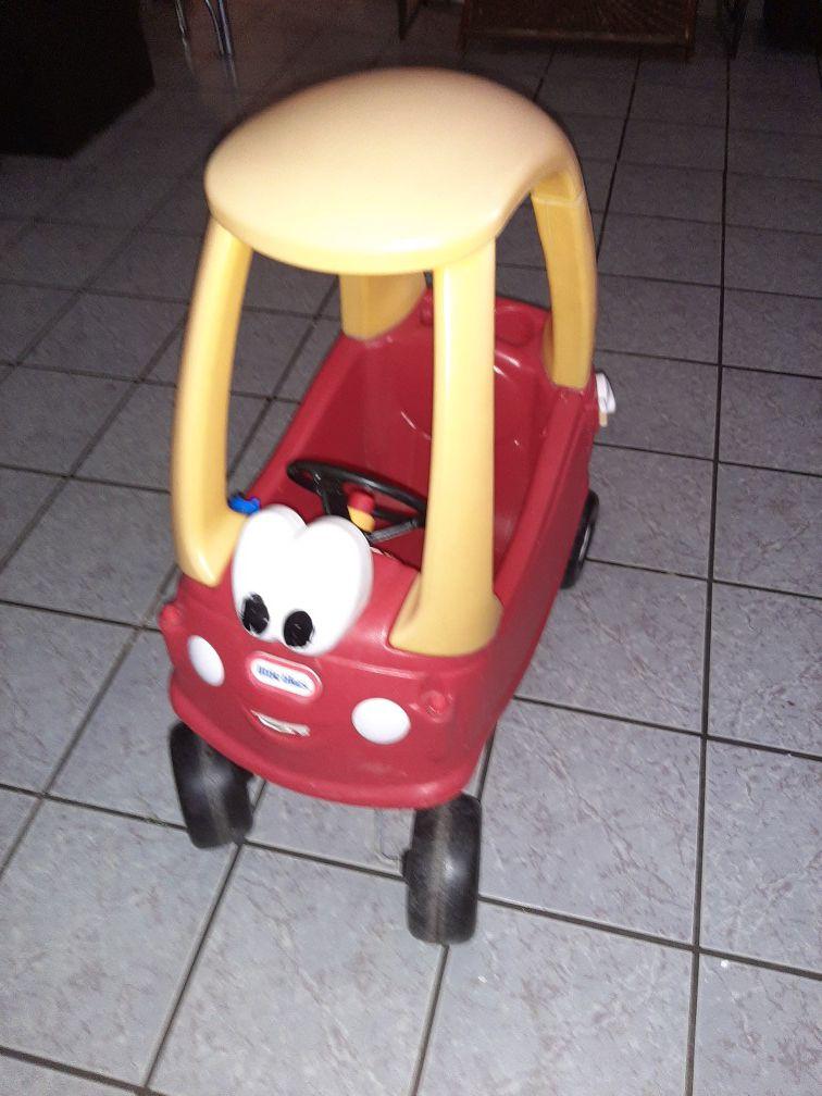 Little tikes mini coop car