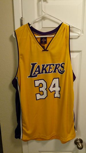 a803b179a80 New and Used Lakers jersey for Sale in Bellevue