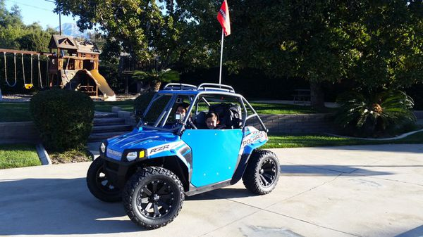 2015 polaris rzr 170 mini fuel injected 170cc fully customized!