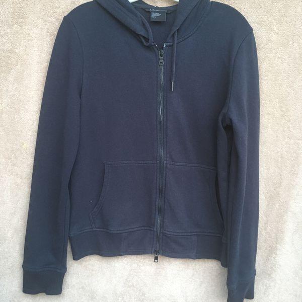 Men's Clothing Armani Exchange Zipper Hoodie Size M