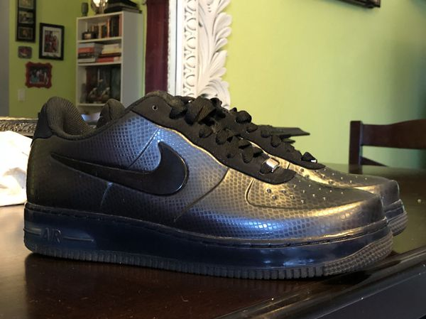 reputable site 46eec c5874 Nike Air Force 1 Foamposite Pro Low - Black Snake - Size 10