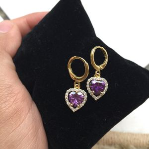 18k gold plated earrings Dangles women's jewelry accessory for Sale in Silver Spring, MD
