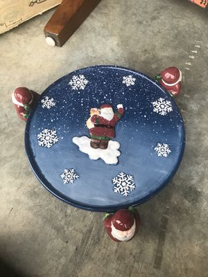 Home interior Christmas plate holder for Sale in Frederick, MD