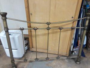 Low profile brass headboard for Sale in Fairfax, VA