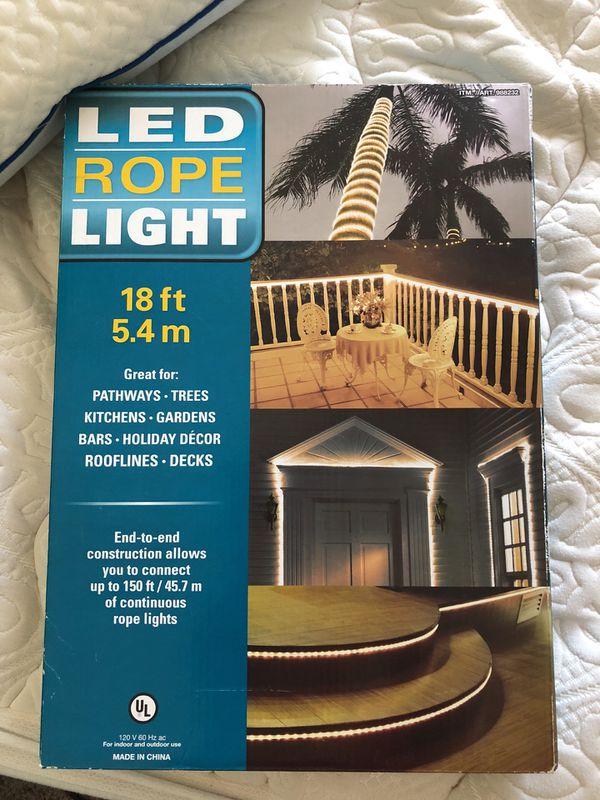 Led rope light 18 feet for sale in tempe az offerup aloadofball Gallery