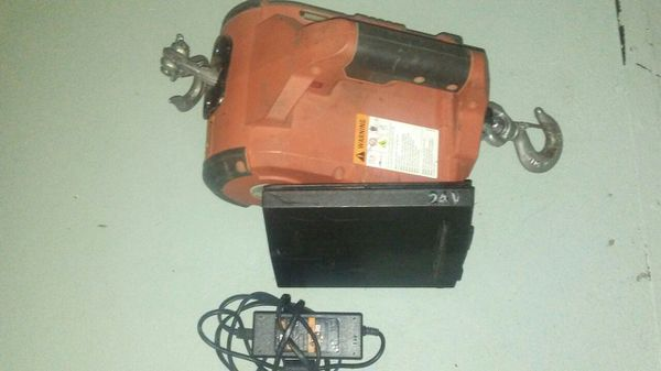 Pullzall 24 Volt Electric Come Along