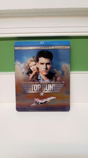 TOP GUN!!! Blu Ray steelbook! for Sale in Germantown, MD
