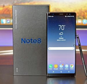 Samsung Note 8 Factory Unlocked + box and accessories + 30 day warranty for Sale in Fairfax, VA