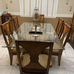 Solid Wood Dining Room Set Thumbnail