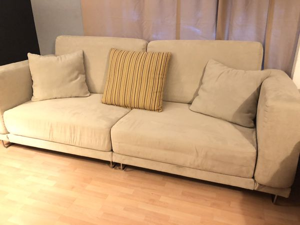 Astounding Ikea Grey Cream Tylosand Loveseat Sofa Bed For Sale In San Jose Ca Offerup Gmtry Best Dining Table And Chair Ideas Images Gmtryco
